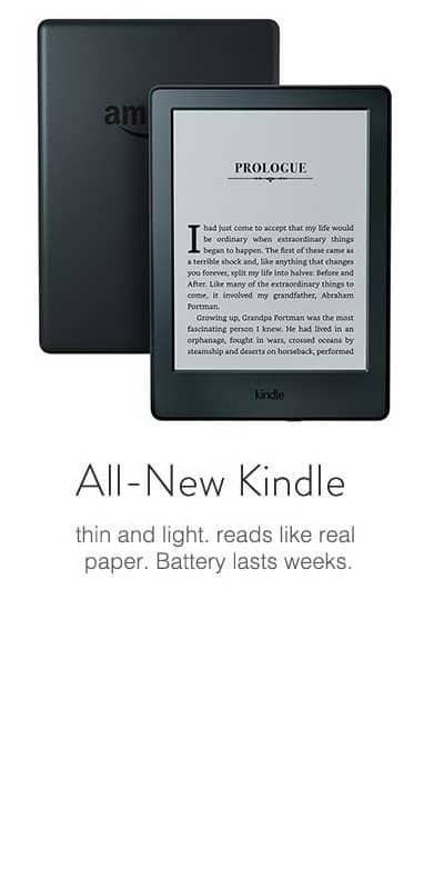 Kindles upto Rs. 3000 off from Rs. 4999- Amazon