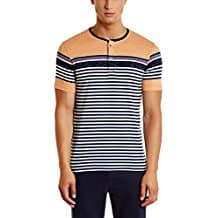 Qube by Fort Collins Men's T-Shirt Starts from Rs. 179