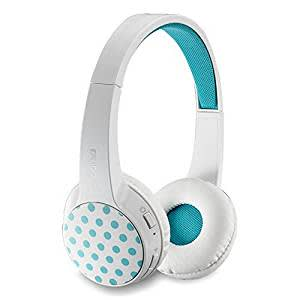 RAPOO | S100-W Bluetooth 4.1 Stereo Headset with Built-in Digital Sound Card - WHITE / 20 Hours Play Time