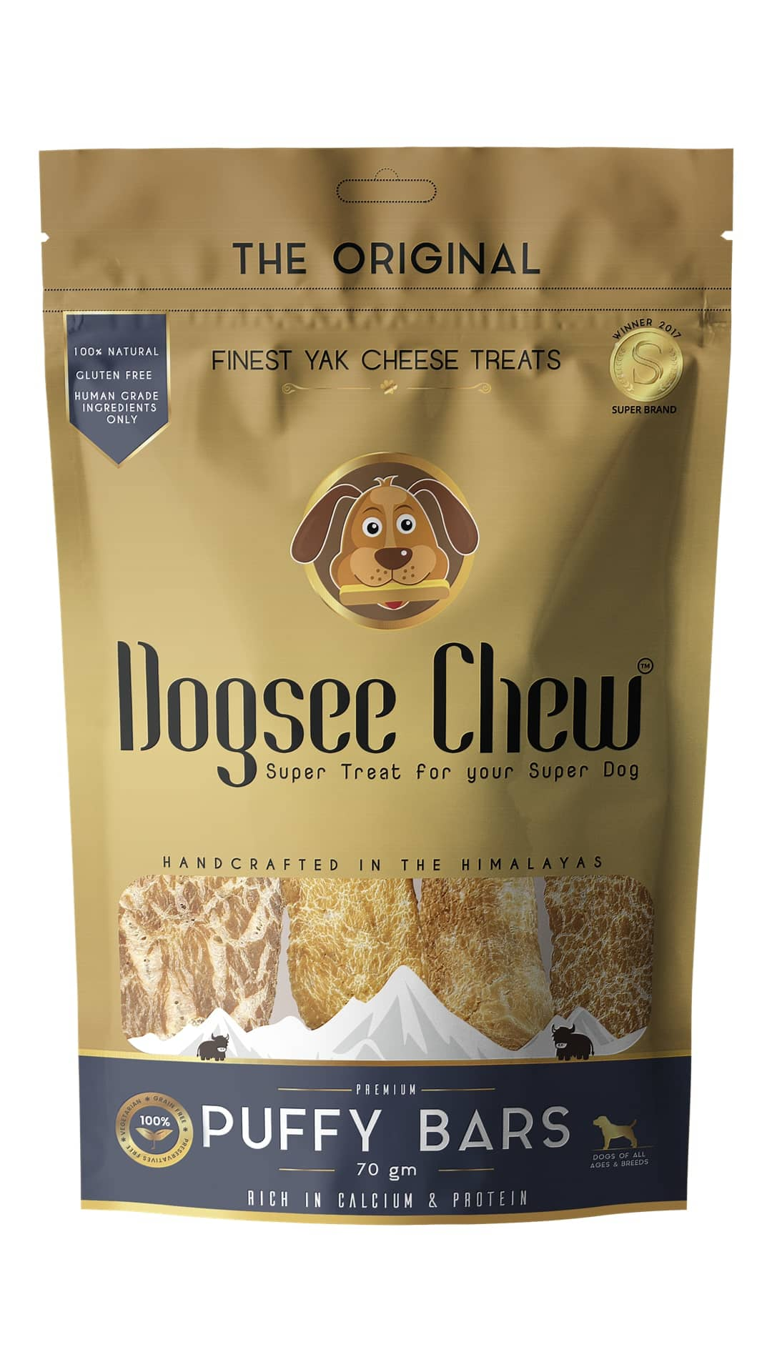 Dogsee Chew Puffy Bars @99 + Free Shipping