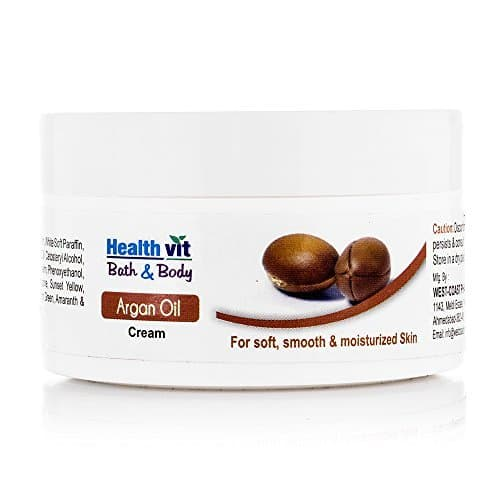 Healthvit Bath and Body Argan Cream, 50g Rs.58 (71% Off)