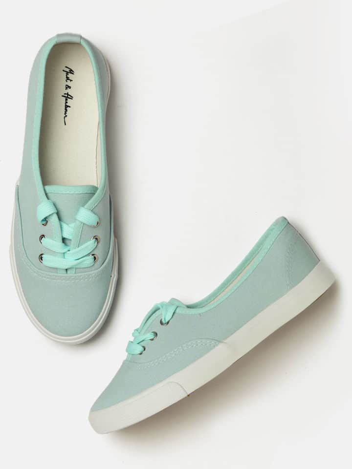 Mast & Harbour Women Blue Sneakers at 849