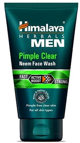 Himalaya Men Pimple Clear Neem Face Wash 100ml x 2pc Rs. 210- Amazon