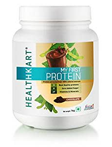 Healthkart My First Protein, Beginners Protein With Whey & Casein- 1Kg/2.2Lb