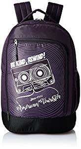 American Tourister 28 Ltrs Purple Casual Backpack (AMT PING BACKPACK 02 - PURPLE)