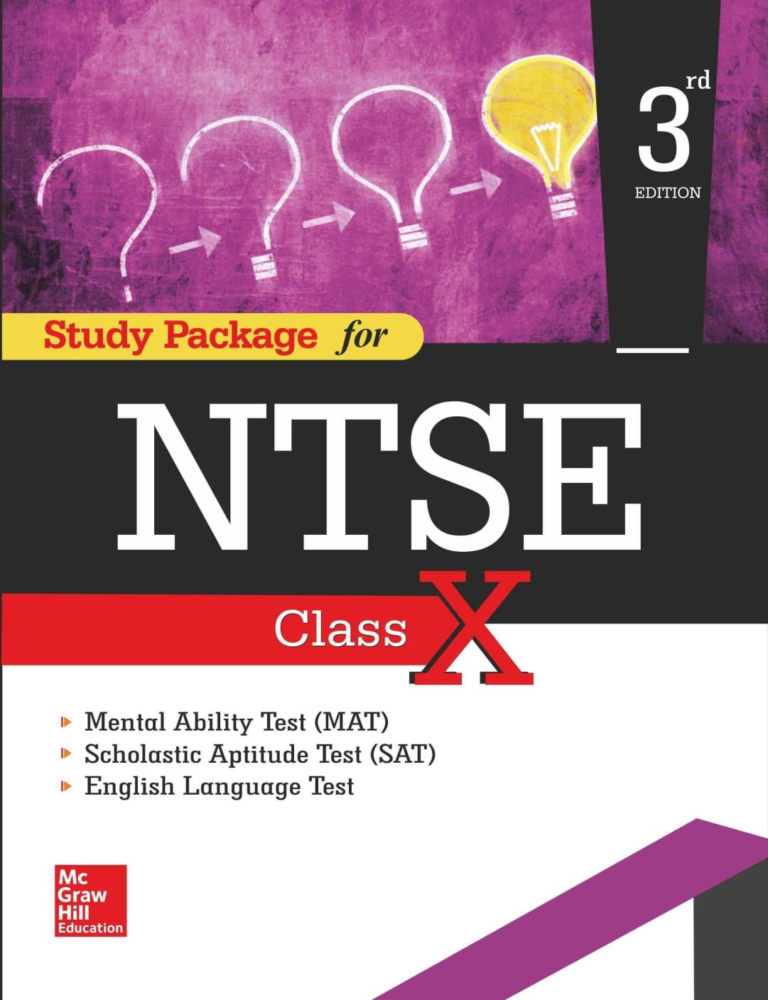Study Package For NTSE Class X 3 Edition (English, Paperback, Study Package For NTSE Class X) at 495