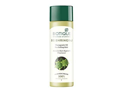 Biotique Bio Bhringraj Fresh Growth Therapeutic Oil for falling Hair, 200ml at 199
