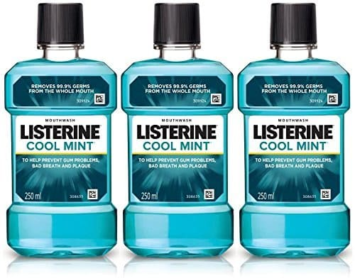 Listerine Mouthwash 250ml Buy 2 Get 1 Free Rs. 213 @ Amazon
