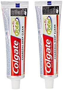 Colgate Total Charcoal Toothpaste Saver Pack 120G+120G