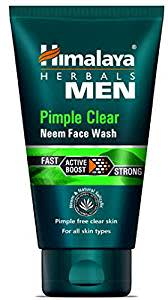 Himalaya Herbls Men Pimple Clear Neem Face Wash, 100ml