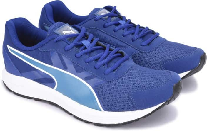 Puma Valor IDP Running Shoes For Men  (Blue)