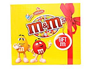M&M's Valentine's Day Chocolate Gift Pack, 135g