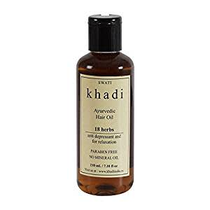 Khadi 18 Herbs Hair Oil - 210 ml
