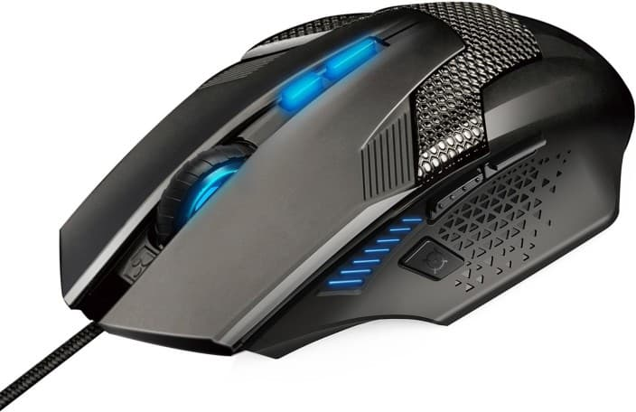 Tecknet GM299 Wired Optical Gaming Mouse  (USB, Black)