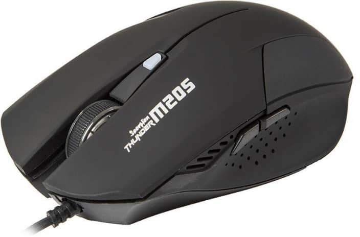 MARVO M205 Black Wired Optical Gaming Mouse  (USB, Black)