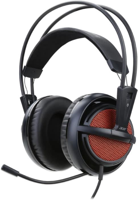 Acer PHW510 Wired Headset with Mic  (Black, Over the Ear)