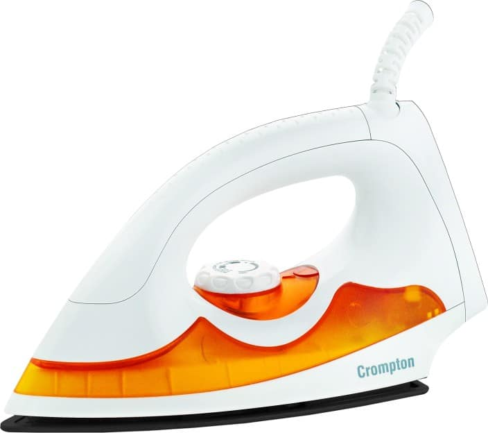 Crompton ACGEI-PD PLUS Dry Iron  (White)