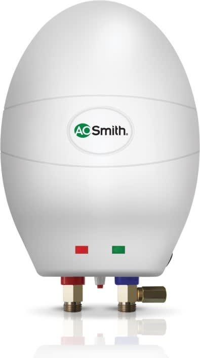 AO Smith 3 L Instant Water Geyser  (White, EWS-3L)