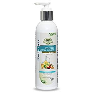 HealthKart Apple Cider Vinegar Moisturizing Shampoo – For Dry, Frizzy & Damaged Hair - Made from Organic Natural Apple Cider Vinegar - 200 mL