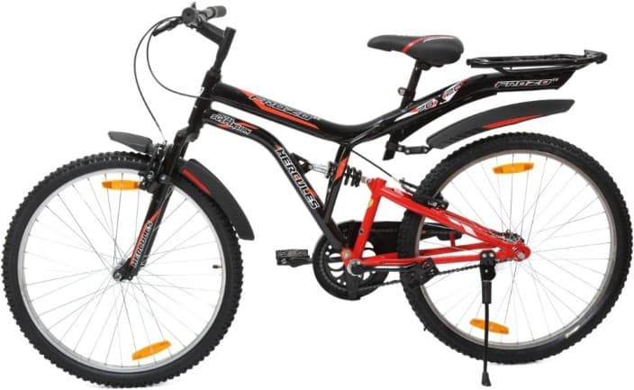HERCULES Frozo ZX 26 T Single Speed Road Cycle  (Red, Black)