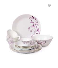 Cello Imperial Dinner Set of 19 Rs. 1199