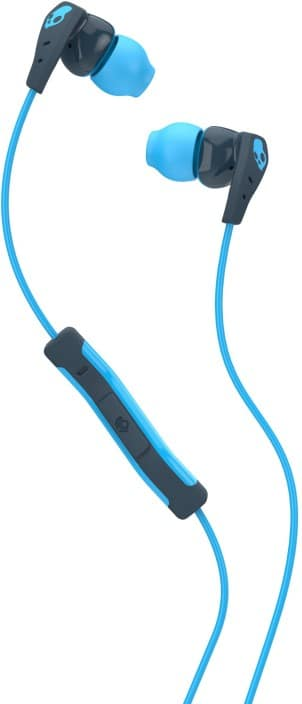 Skullcandy S2CDY-K477 Method Wired Headset with Mic  (Navy Blue, Blue, In the Ear)