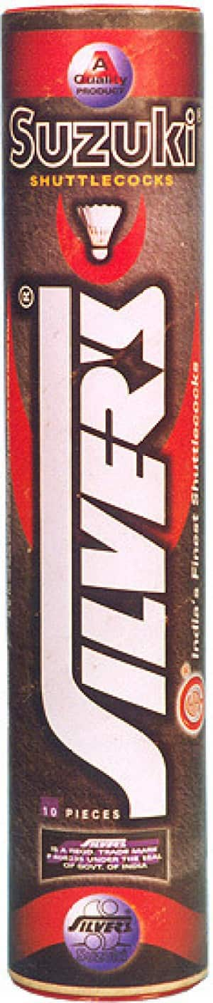 Silvers Suzuki Feather Shuttle - Multicolor  (Pack of 10)