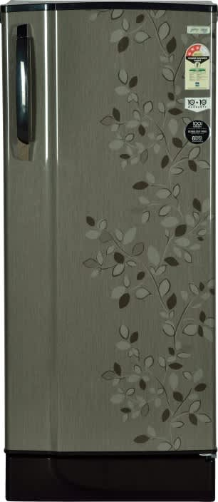 Godrej 221 L Direct Cool Single Door 3 Star Refrigerator  (Carbon Leaf, RD EDGESX 221 CT 3.2)