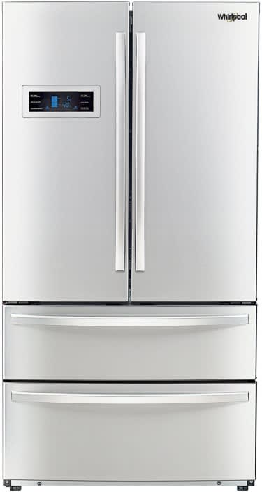 Whirlpool 570 L Frost Free French Door Bottom Mount Refrigerator  (Silver, 702 FDBM)