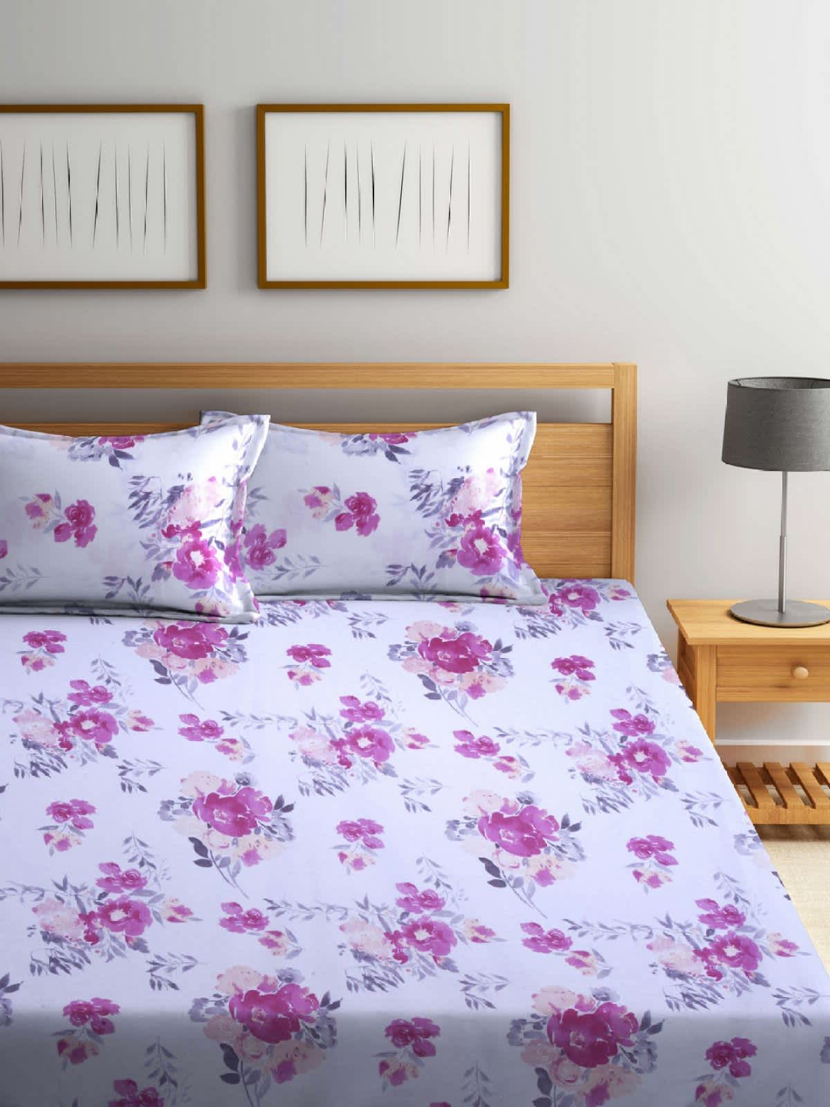 [Buy 3 @ 75% off)Raymond's cotton bedsheets @75% off