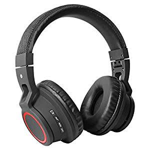 DMG BT-Y7 Thunderbolt Bluetooth Wireless Gaming Music Headset with Mic for Smart Phones & Tablets (Black)