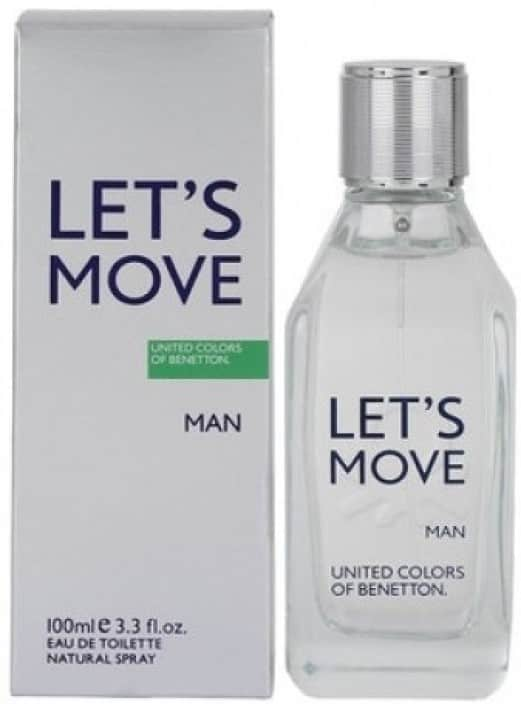 United Colors of Benetton Lets Move EDT - 100 ml