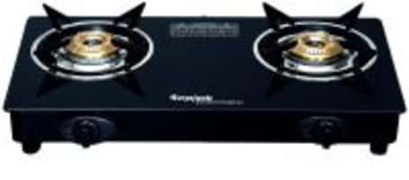 Suryajwala Stainless Steel 2 Burner Gas Stove, Black (sj2burner-CI-ROY) @ Rs.1318