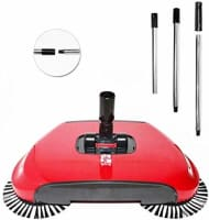Vmoni All in one Sweep Drag 360* Multi Functional Broom Machine for Home & Office- Multi Color