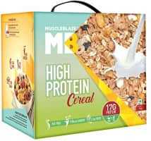 MuscleBlaze High Protein Cereal - 1 kg @ Rs.523