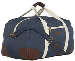 BagsRUs Polyester 30.5 cms Navy Blue Travel Duffle (DF112FNB)