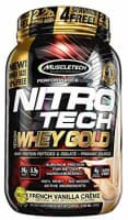 Muscletech Nitrotech Whey Gold Performance Series – 2.2 lbs, 999 g (French Vanilla Creme)