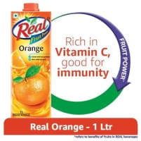 Real Fruit power Orange 4 lts @ 180 (Free shipping)